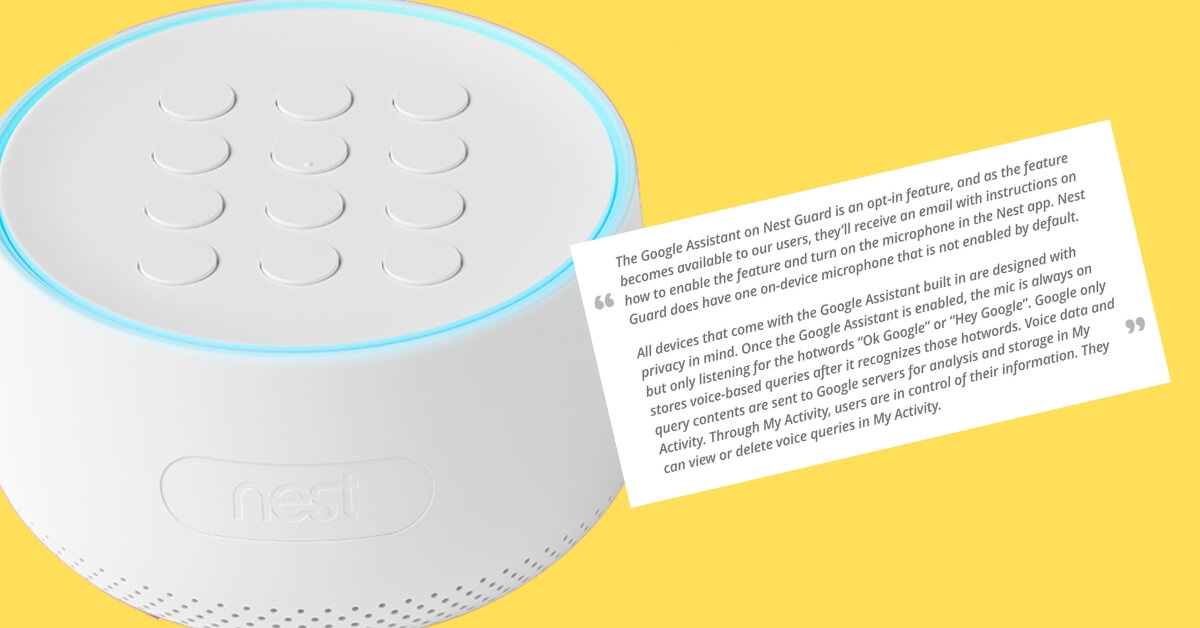 Google Reveals That Nest Secure Alarm Systems Contain a