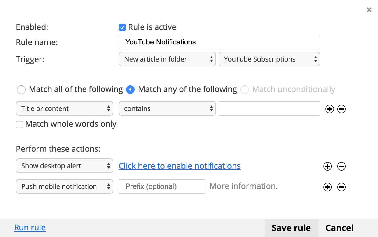 YouTube and RSS: moving your channel subscriptions to an RSS