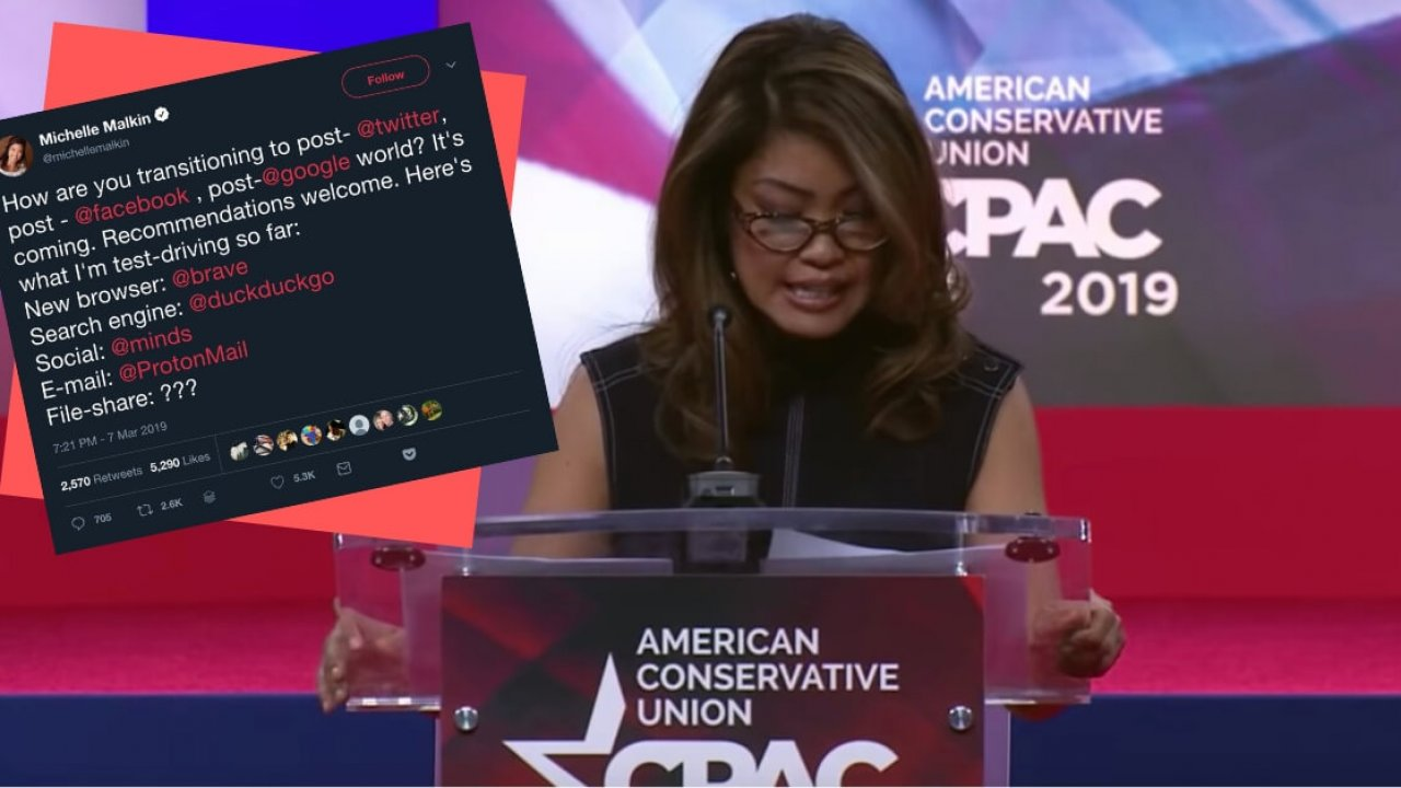 Michelle Malkin envisions a post-Google world with