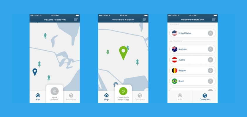 The NordVPN update for iOS brings a whole host of new