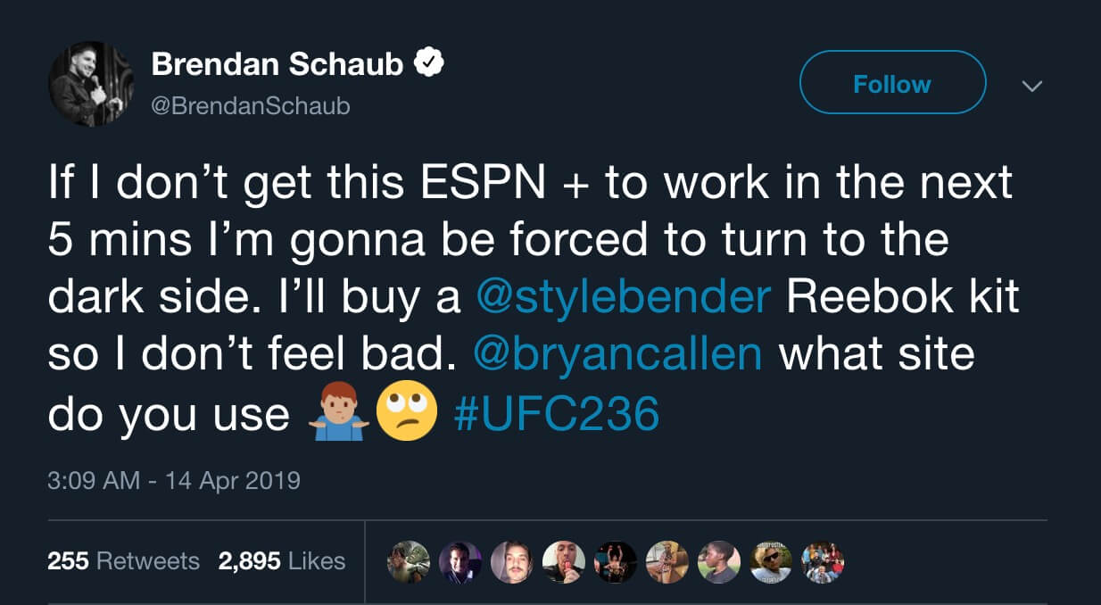 Ex-MMA fighter Brendan Schaub gets blamed after subreddit /r