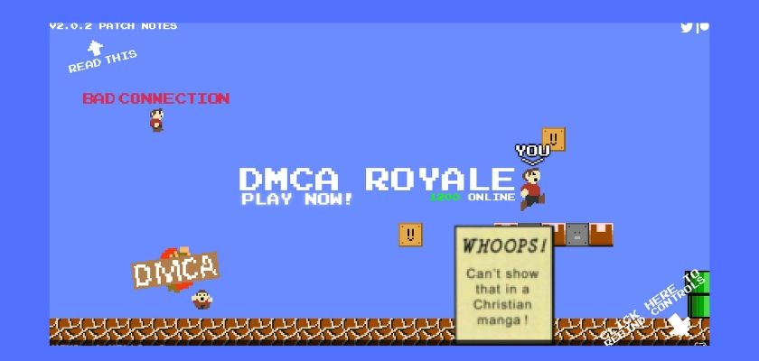 Nintendo slaps creator of Mario Royale with takedown notice, now