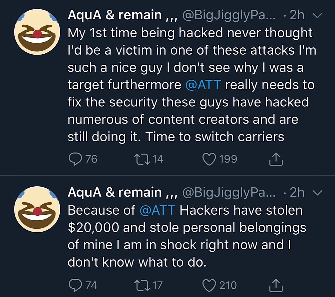 BigJigglyPanda Twitter account hacked and compromised for