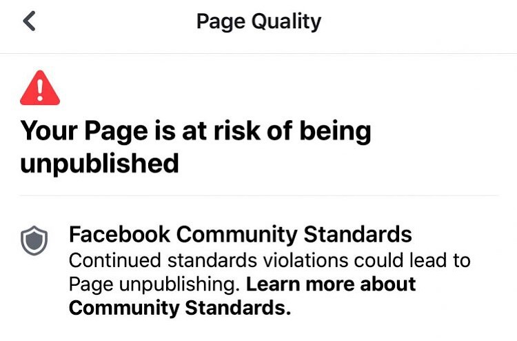 Facebook suspends popular meme page for posting a pro