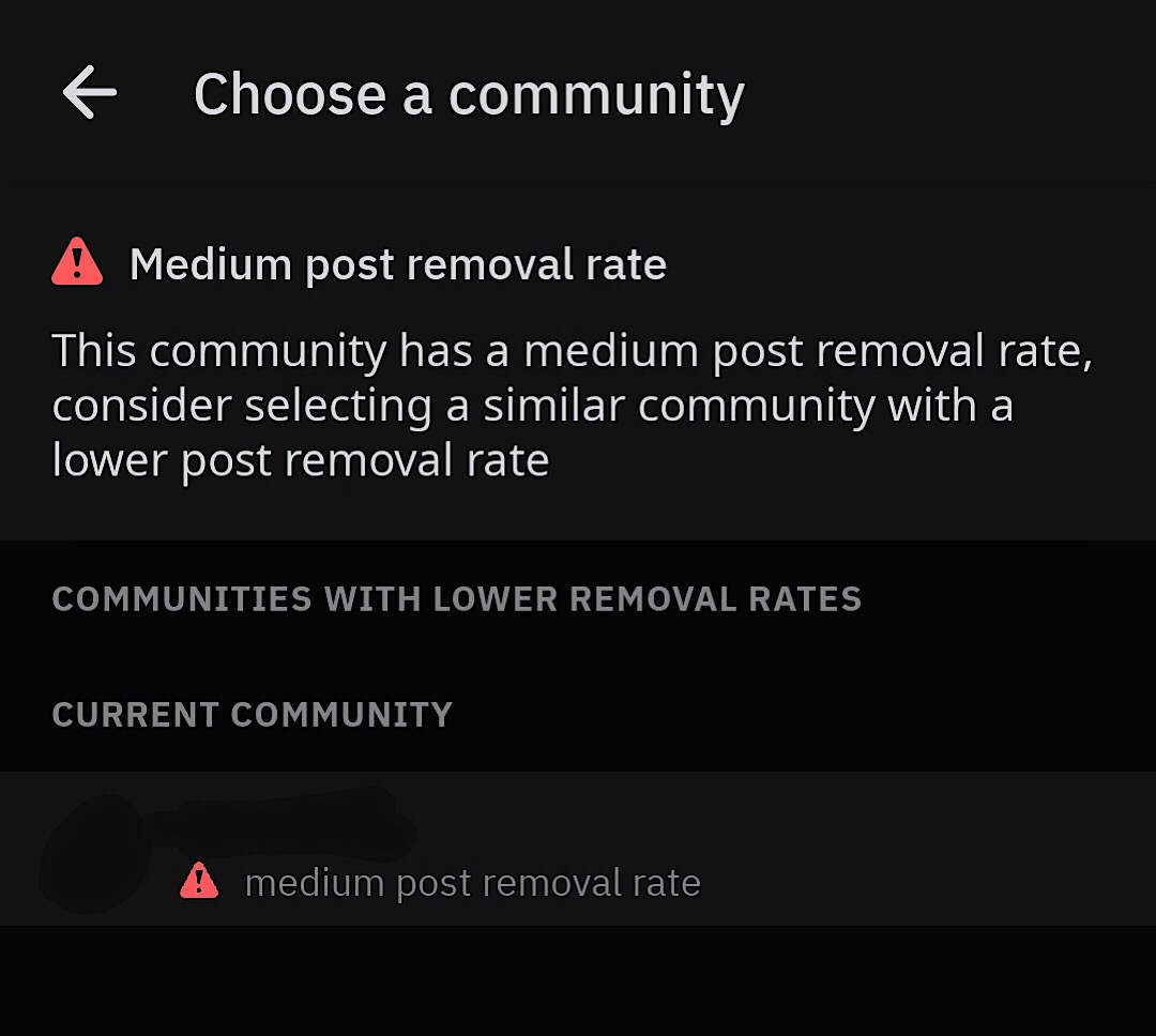 Reddit tests warning users about some communities
