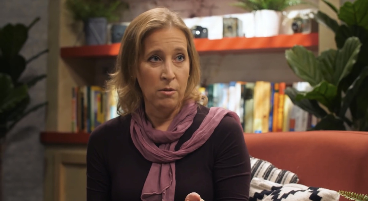"""Susan Wojcicki said """"conspiracy theories about what YouTube's really up to"""" are the biggest misconception about YouTube (YouTube - The Try Guys)"""