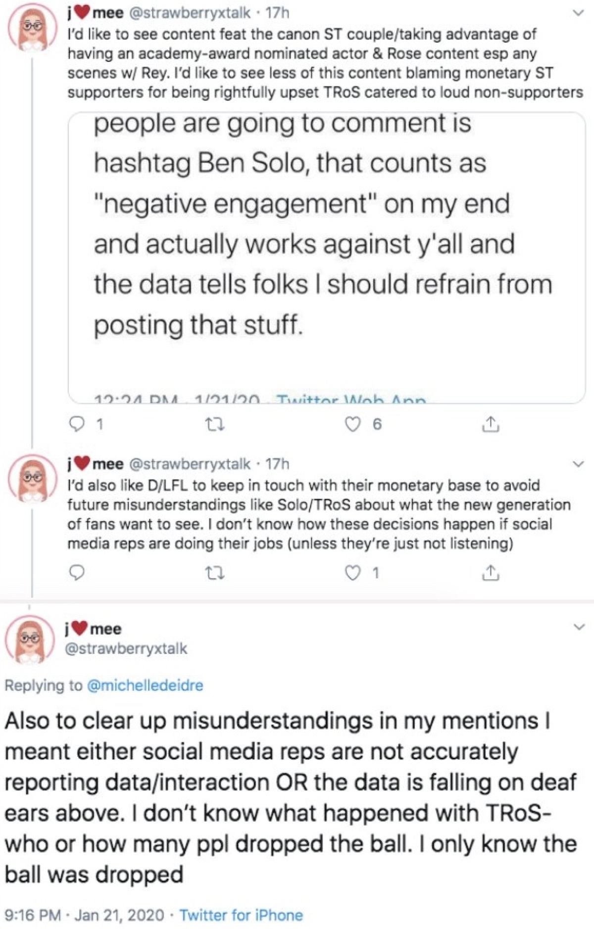 One of the Reylos accused Buchman of failing to interpret the data correctly (Twitter - @saltandrockets)