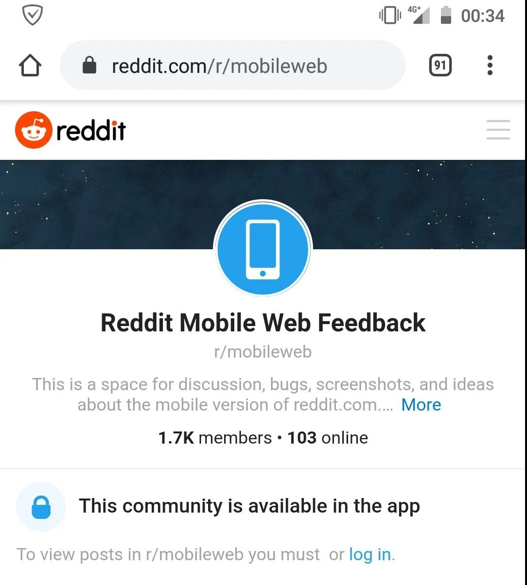 Reddit Tests Forcing Users To Login Or Use The App To Read Content