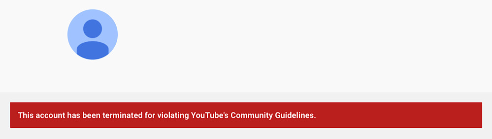 I,Hypocrite's YouTube channel was deleted after one of his debate videos was flagged for hate speech (YouTube - I,Hypocrite)