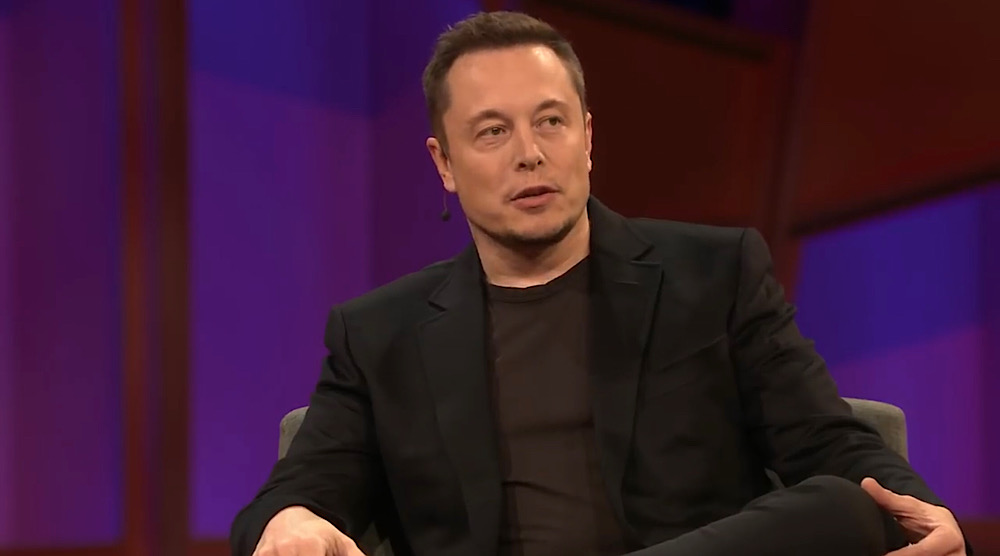 Google blocked access to a Google Doc shared by Elon Musk in March (YouTube - TED)
