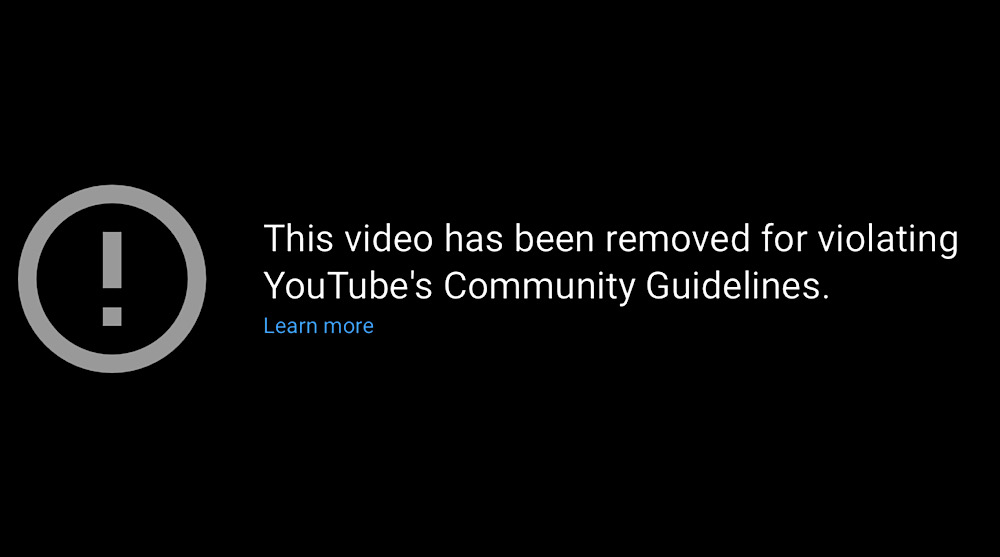 YouTube removed Dave Cullen's update video where he discussed the censorship of his interview with Professor Dolores Cahill (YouTube - Computing Forever)