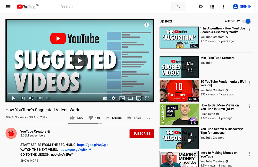 """The US Copyright Office argues that YouTube recommendations may be """"beyond what Congress intended"""" when crafting DMCA safe harbor (YouTube Creators)"""