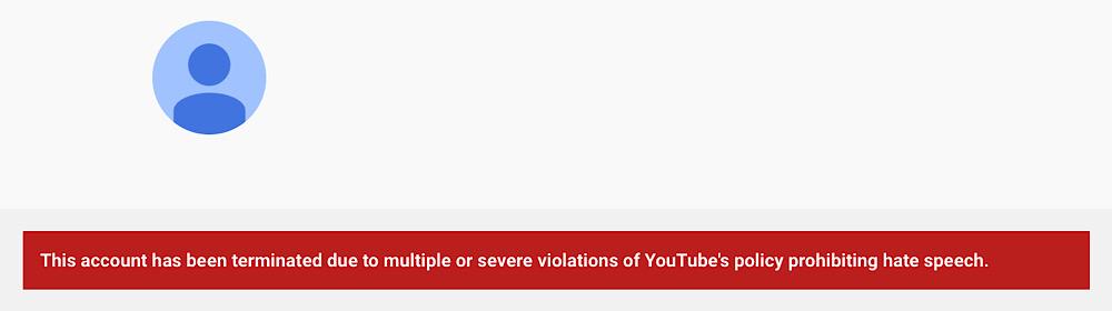 "Stefan Molyneux's YouTube channel was banned for ""hate speech"" (YouTube - Stefan Molyneux)"