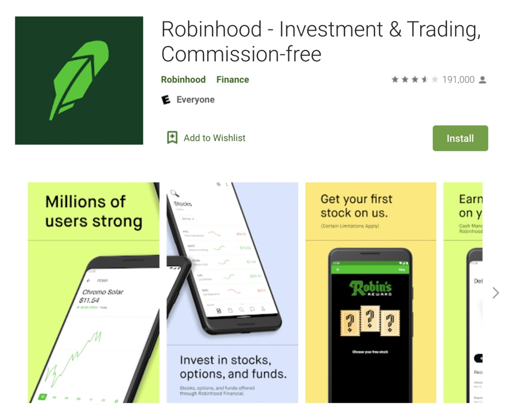 Robinhood had a 3.5 star Google Play rating before it banned trades on GameStop and other trending stocks
