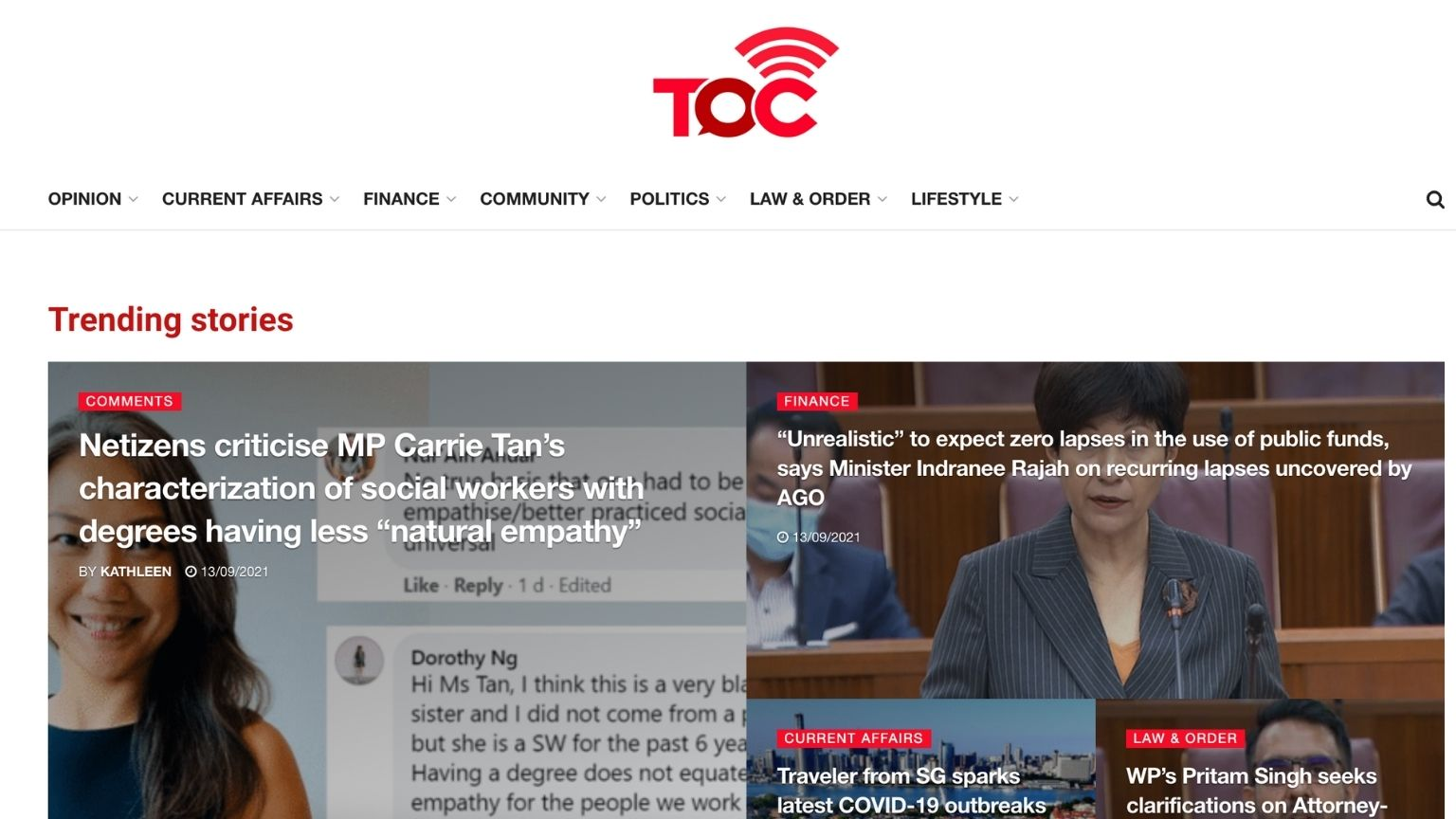 Singapore revokes license of online news outlet that often criticizes government